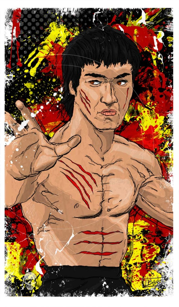 Bruce Lee - Savior of the Universe © 2015 Todd Bane