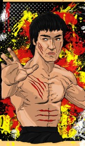 Bruce Lee pt 4 © 2015 Todd Bane