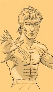 Bruce Lee pt 2 © 2015 Todd Bane