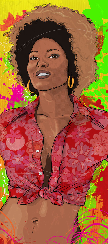 The Radiance of Pam Grier. © 2015 Todd Bane
