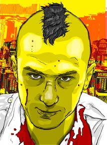 The Awakening of Travis Bickle, color © 2015 Todd Bane